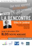 Conférence de Gilles le Cardinal à Blois dans le cadre des JER