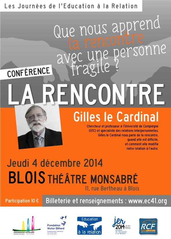 La conférence de Gilles Le Cardinal